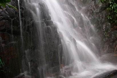 Air Terjun Gunung Bintan Terletak Kampung Bekapur Desa Buyu